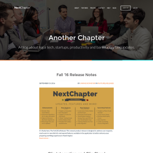 NextChapter Blog