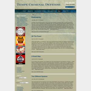 Phoenix Arizona Criminal Defense Attorney Blog