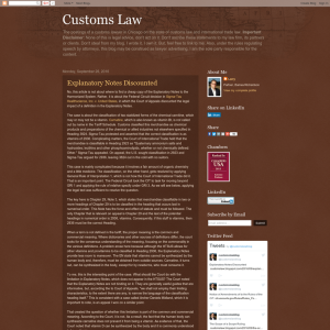 Customs Law