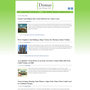 Dumas Law Group Blog