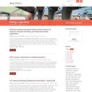 Energy Legal Blog