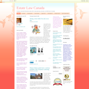 Estate Law Canada
