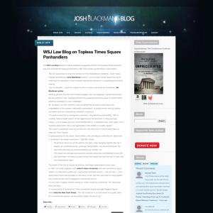 Josh Blackman's Blog