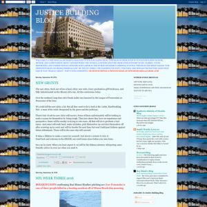 Justice Building Blog