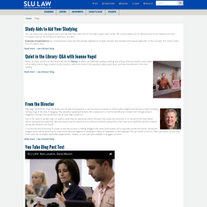 SLU Law Blog