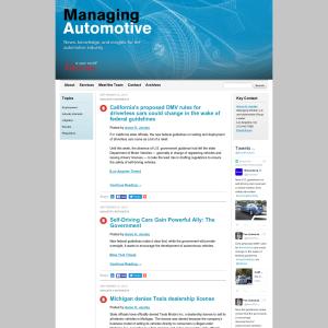 Managing Automotive