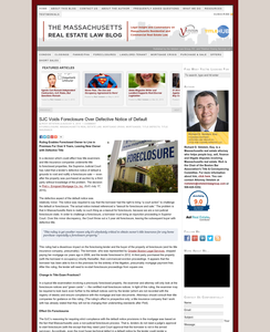 The Massachusetts Real Estate Law Blog