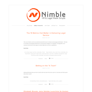 Nimble Thoughts