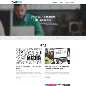 ONE400 Blog