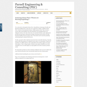 Parnell Engineering & Consulting Blog