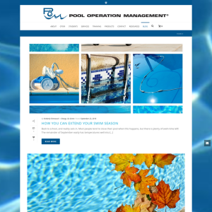 Pool Operation Management Blog