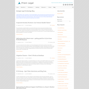 Prism Legal Strategic Legal Technology Blog