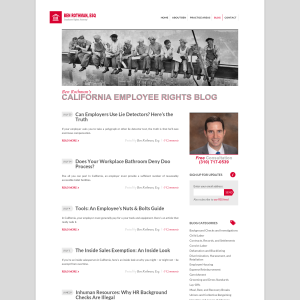 California Employee Rights Blog