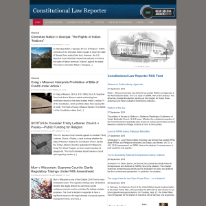 Constitutional Law Reporter