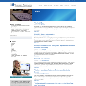 Thorburn Associates Blog