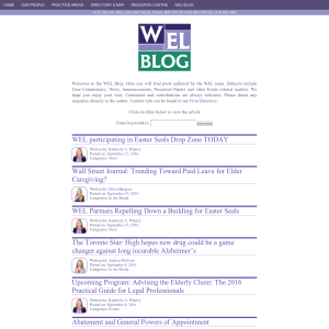 Whaley Estate Litigation Blog