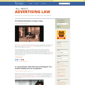All About Advertising Law