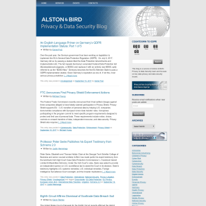 Alston & Bird Privacy Blog