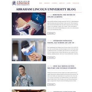 Abraham Lincoln University Blog
