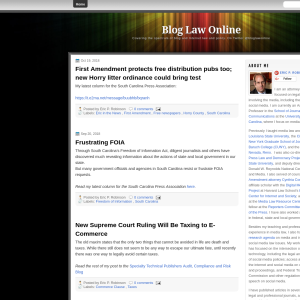 Blog Law Online