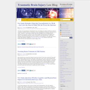 Traumatic Brain Injury Law Blog