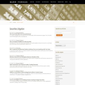 Securities Litigation Archives