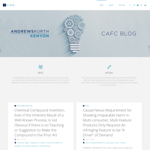 CAFC Blog