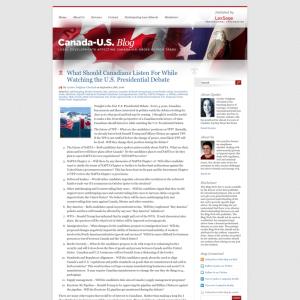 Canada-U.S. Blog