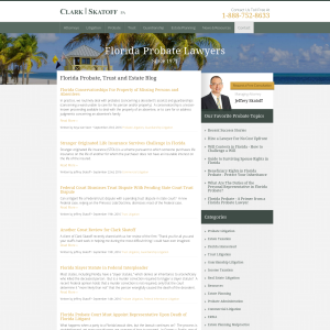 Florida Probate, Trust & Estate Blog