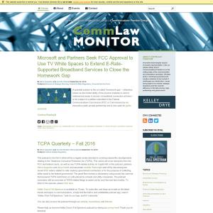 CommLaw Monitor