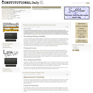 Constitutional Daily