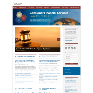 Consumer Financial Services Law Monitor