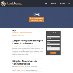 Eversole Criminal Defense Attorney Blog