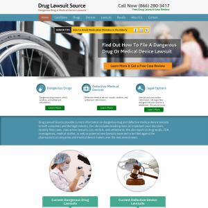 Drug Lawsuit Source