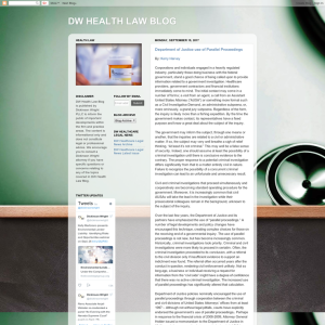 Dw Health Law Blog