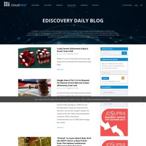 E-Discovery Daily