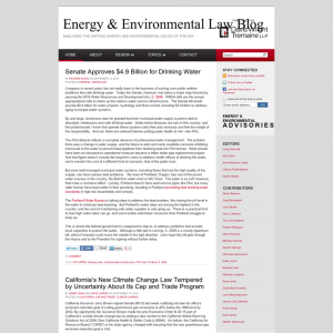 Energy & Environmental Law Blog