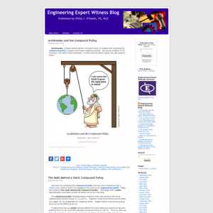 Engineering Expert Witness Blog