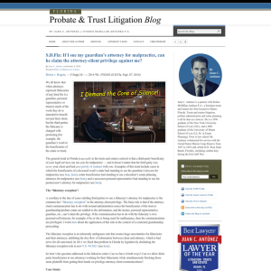 Florida Probate & Trust Litigation Blog