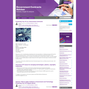 Government Contracts Advisor