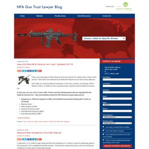 NFA Gun Trust Lawyer