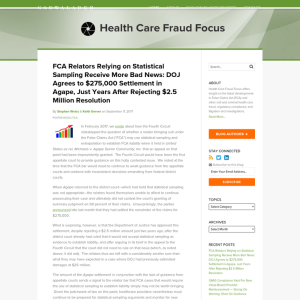 Health Care Fraud Focus