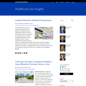 Healthcare Law Insights