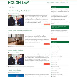 Hough Law Blog