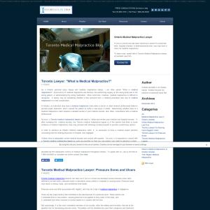 Toronto Medical Malpractice Blog