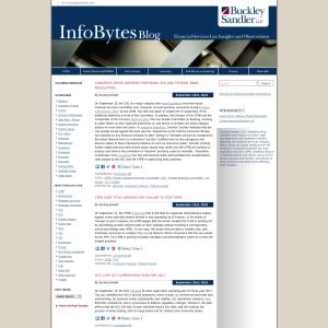 BuckleySandler's InfoBytes Blog
