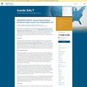 Inside SALT
