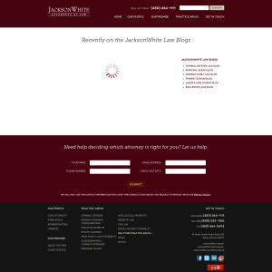 JacksonWhite Law Blog