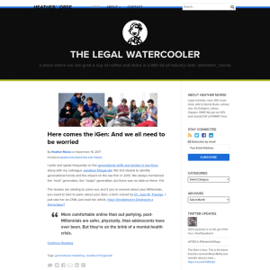 The Legal Watercooler
