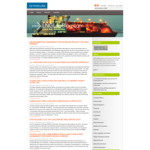 Sutherland LNG Law Blog